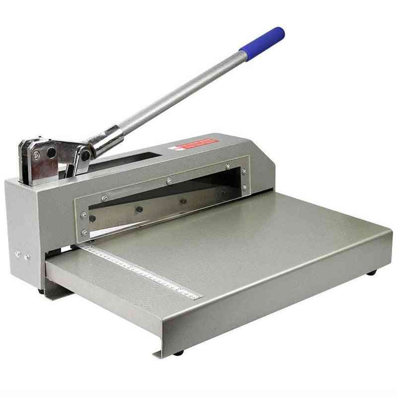 Heavy Duty Pcb Board Polymer Plate Metal Steel Sheet Cutting Machine Shear