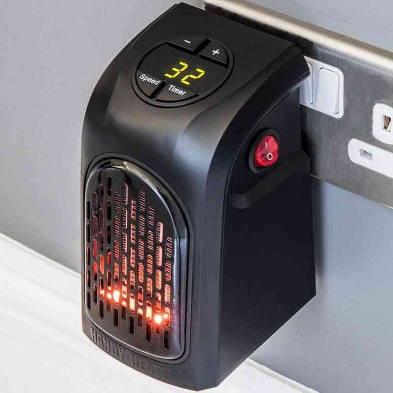 Wall Electric Heater, Mini Fan Desktop Household, Handy Heating Stove, Radiator Warmer Machine For Winter