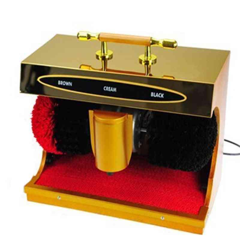 Infrared Automatic Polishing Equipment, Hotel Home Shoes Polish Machine