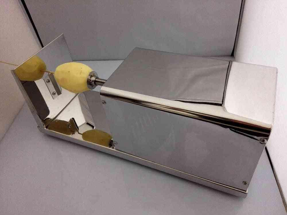Electric Tornado Potato Machine, Spiral Cutting Cutter Chips