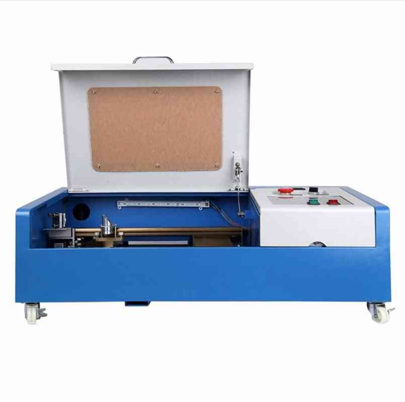Co2 Usb Laser Cutting Engraver Machine With Water Pump