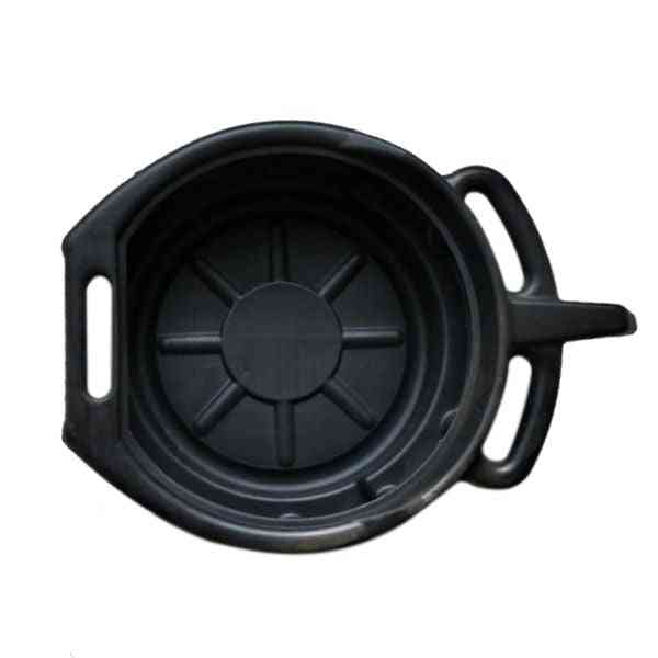 Corrosion-resistant And Splash Proof Oil Drain Pan