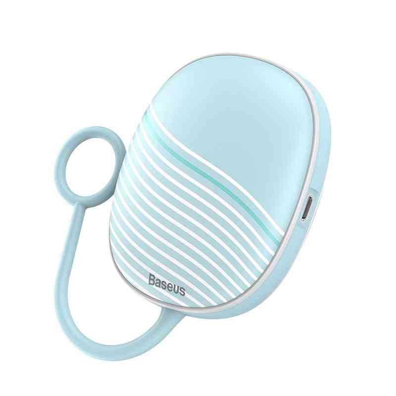 Portable Usb Rechargeable Electric Warmer, Winter Travel Quick Heating Pad