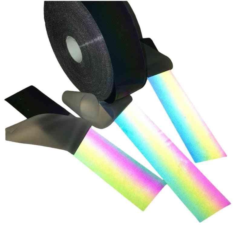 Reflective Iridescence Strip, Night Reflectives Effect Warning Tape