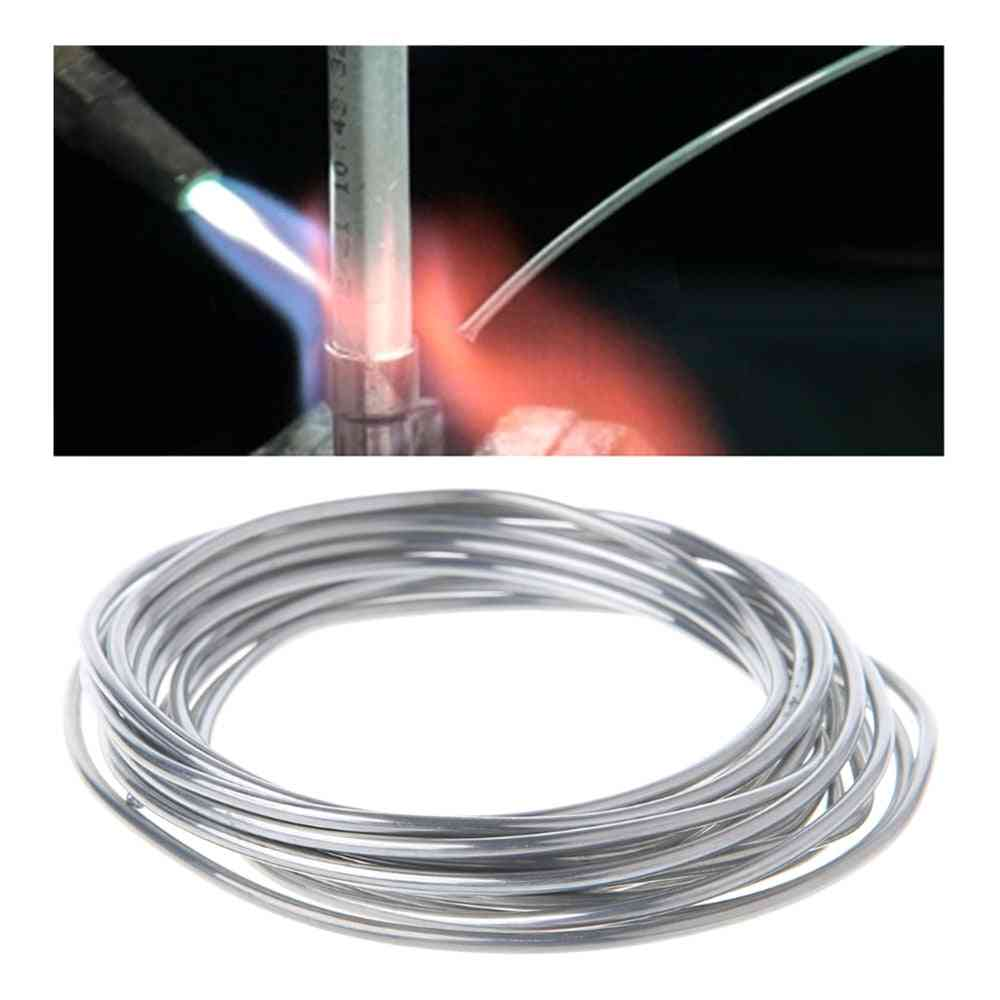 Solder Wire For Welding Condenser Car Air Conditioning Refrigerator Low Temperature Aluminum Electrode