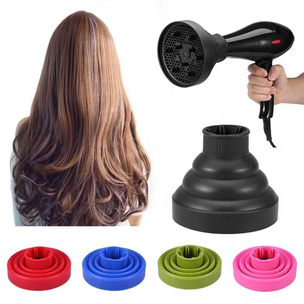 Universal Portable And Folding Silicone Hair Dryer Diffuser