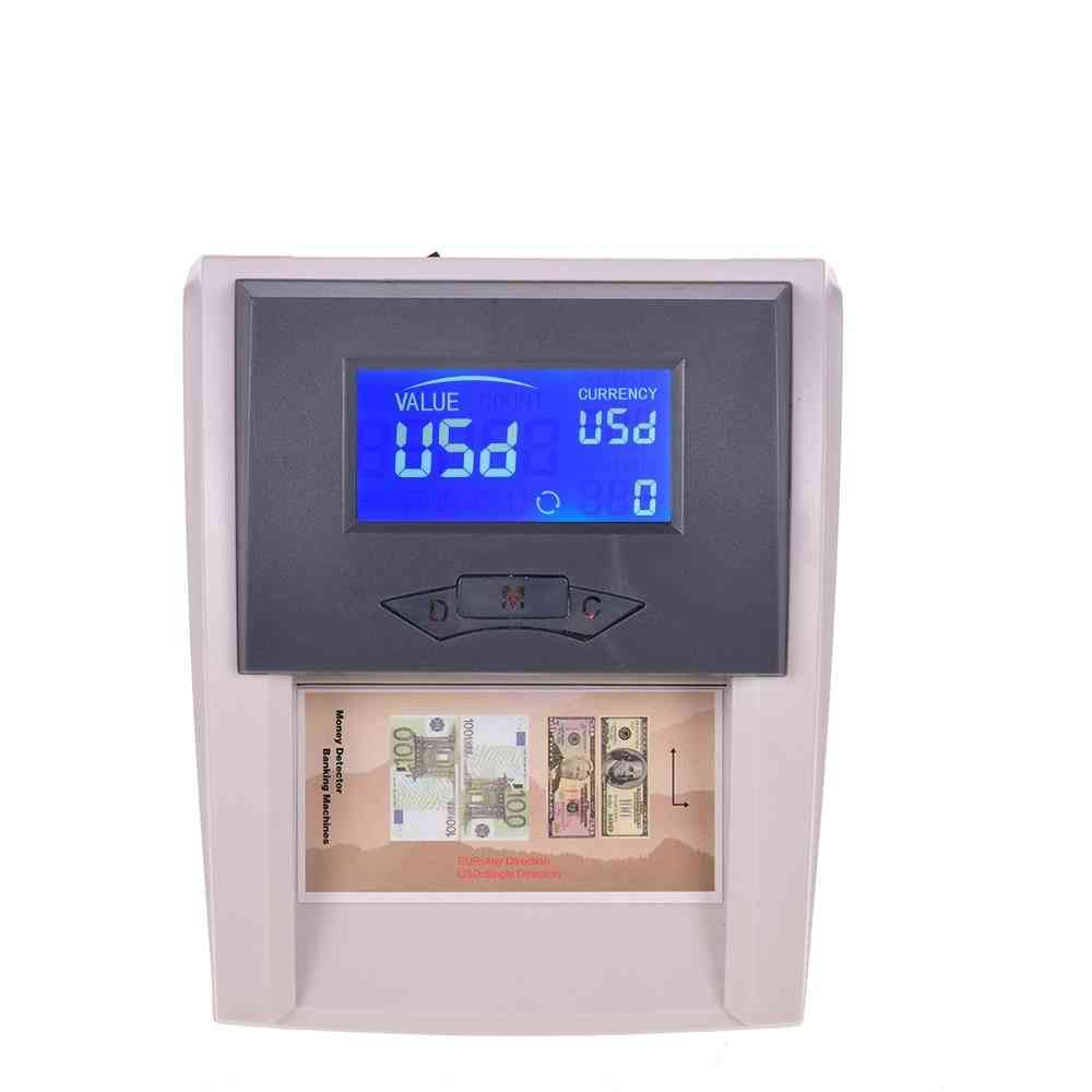 Portable, Countable, Automatic  - Money Detector Machine