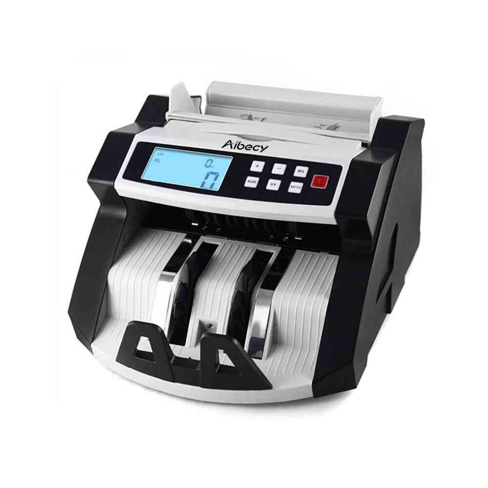 Automatic Multi-currency Banknote Money Counting Machine