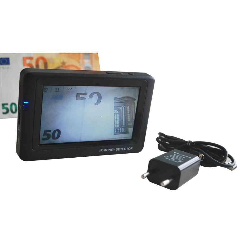 Infrared Camera Money Detector, Mini Banknote Detectors