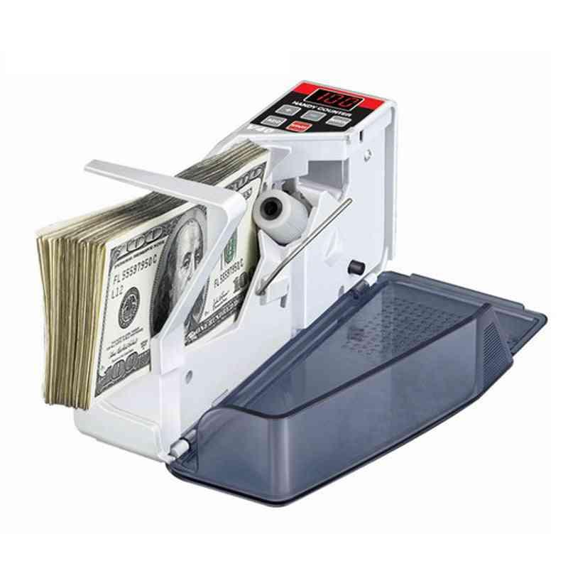 Mini, Portable, Handy Money Counter Machine For Cash Count