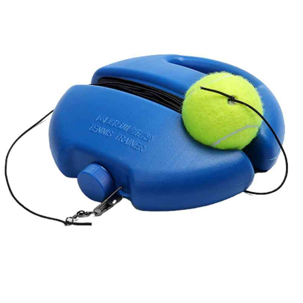 Self-learning, Single Tennis Training Device With Ball