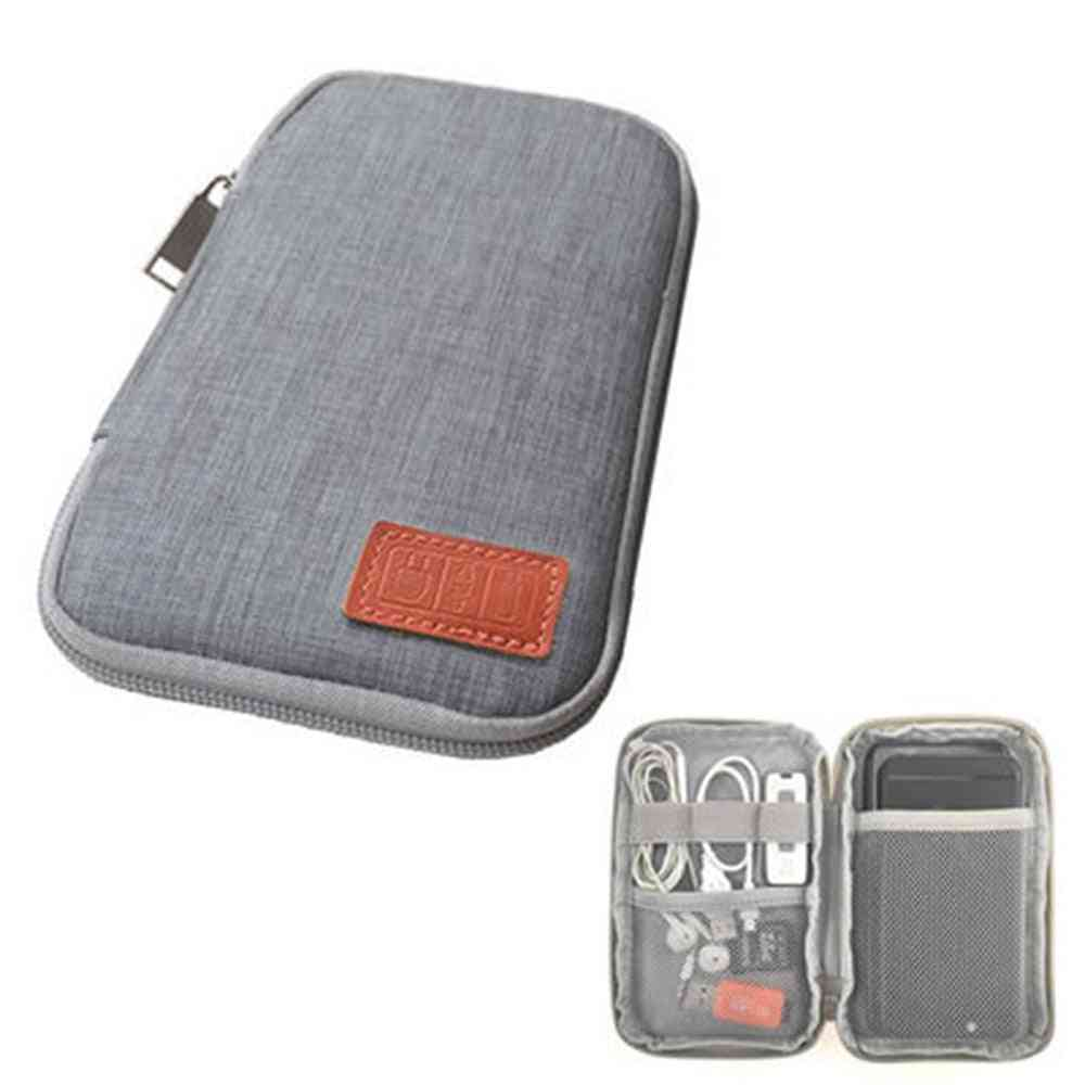 Small Mobile Phone Case/digital Gadget Device, Usb / Data Cable Organizer, Travel Bags