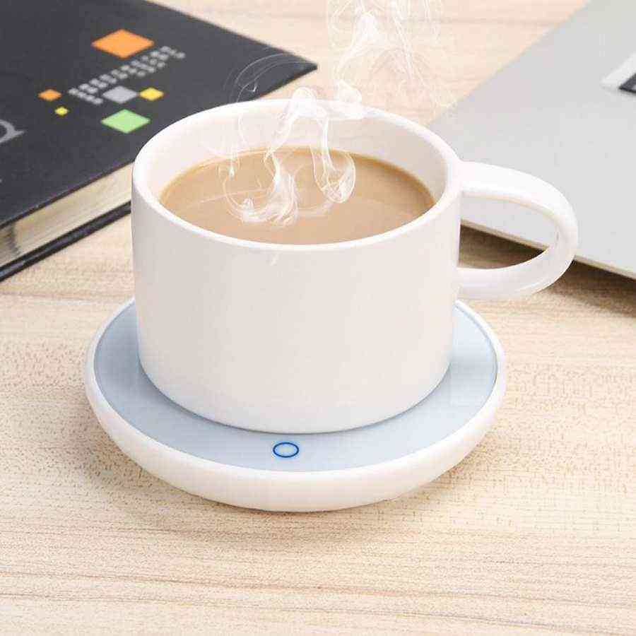 Office Coffee Mug Warmer, Winter Milk, Tea Cup Heated Pad