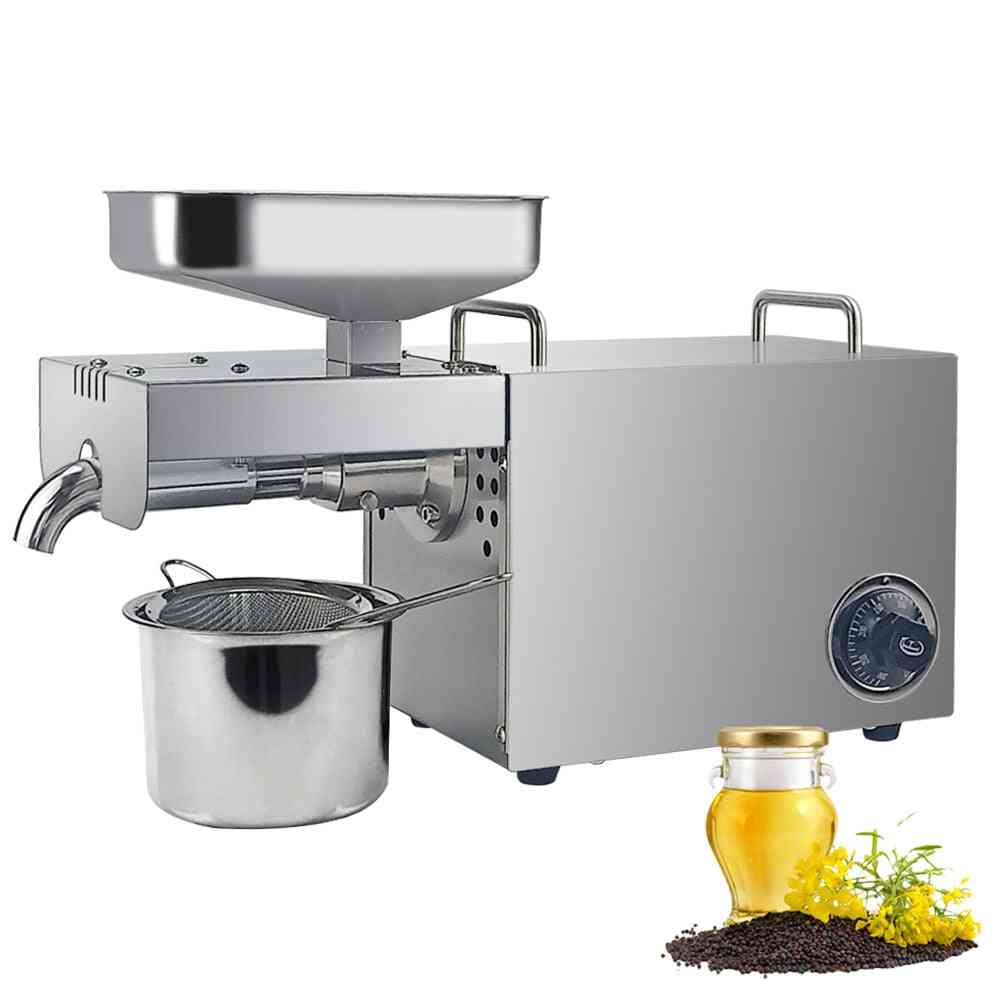 Full Automatic Oil Extractor, Cold Press Coconut Nuts