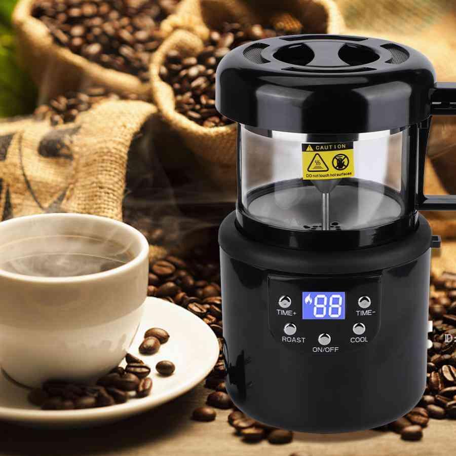Mini Household Coffee Roasting Machine, Baking Tools, Grinder, Kitchen Appliances
