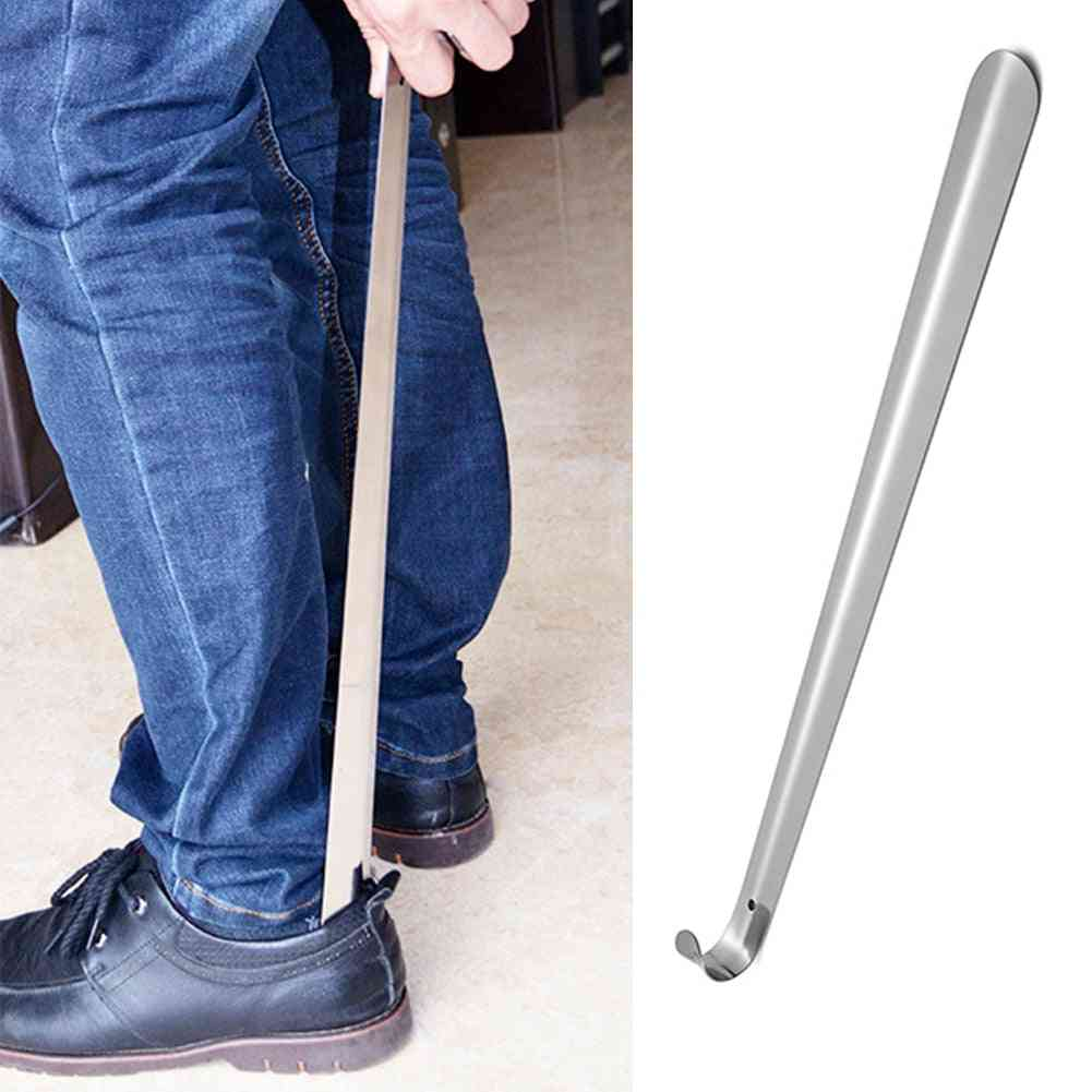 Pregnant Lifter Aid Slip Handle Heavy Duty Durable Long Shoe Horn