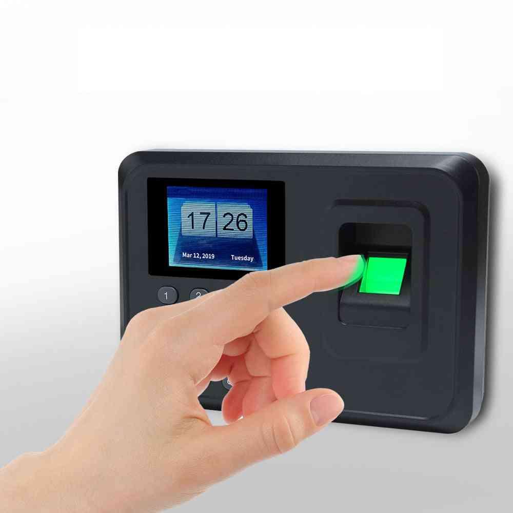 Biometric Fingerprint Time Attendance System Clock Recorder