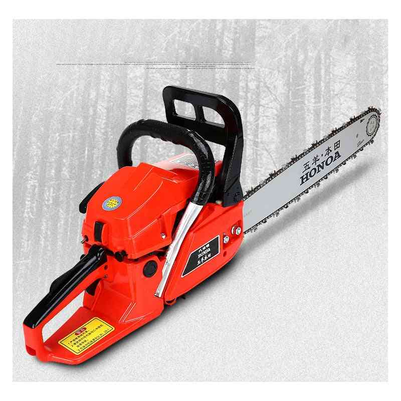 Portable High-power Chain Saw, Gasoline Logging For Household