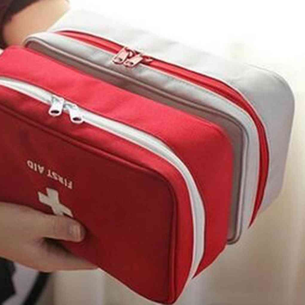 Portable Rescue Box Storage / First Aid Kit Bags/ Emergency Medicine Bag Outdoor Pill Survival Organizer Travel Survival