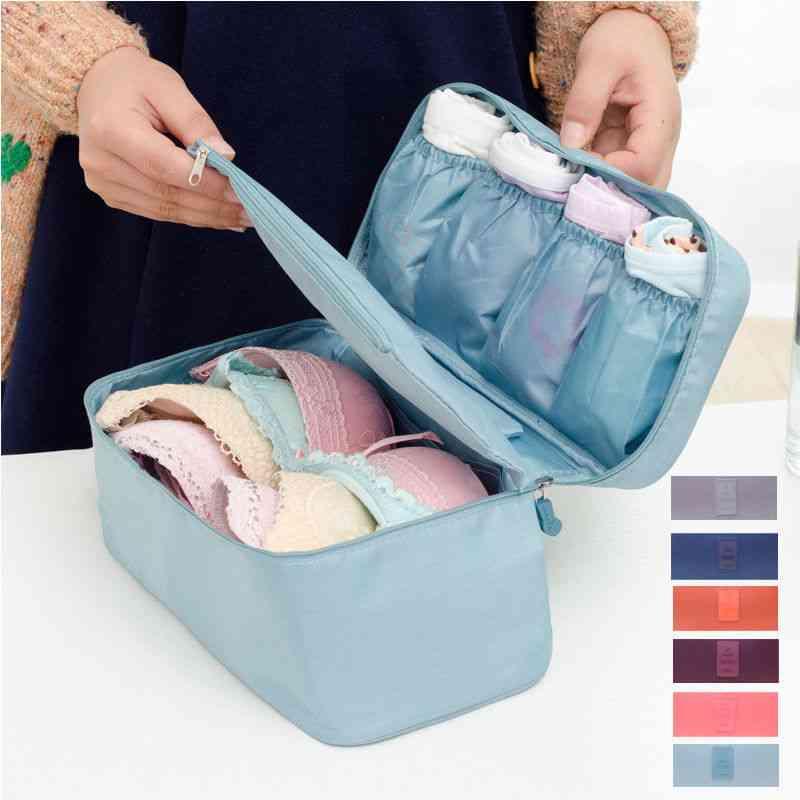 Bra Underwear Drawer, Organizer, Travel Storage Dividers Box