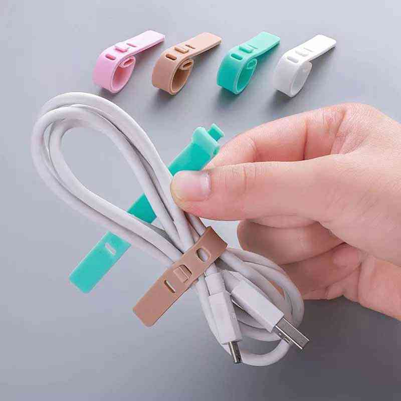 Cable Winder. Earphone Protector. Usb Phone Holder Accessory