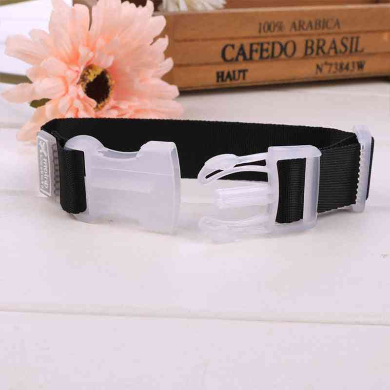 Adjustable Nylon Luggage Accessories Hanging Buckle Straps