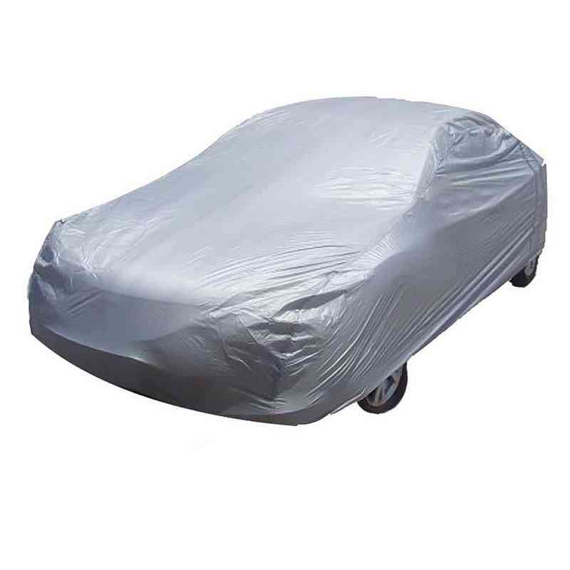Universal  Windproof Waterproof Snow Auto Shade Full Car Cover