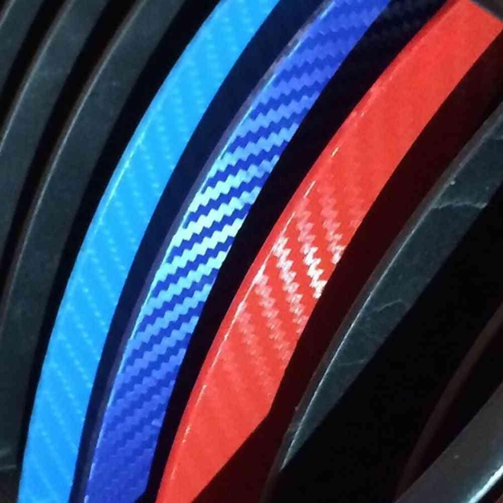 Carbon Fiber Kidney Grill Stripes Decals Stickers