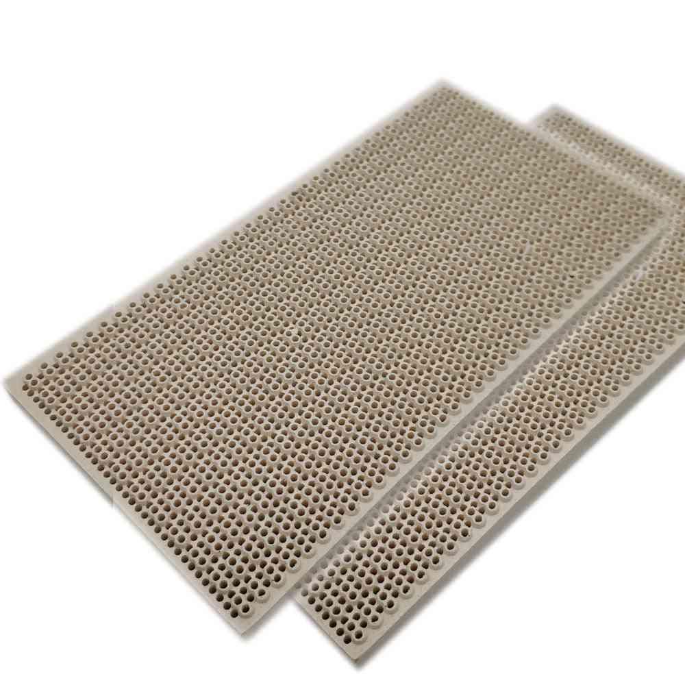 Propane Lpg Gas Heating Appliance Burner Parts, Honeycomb Ceramic Plate