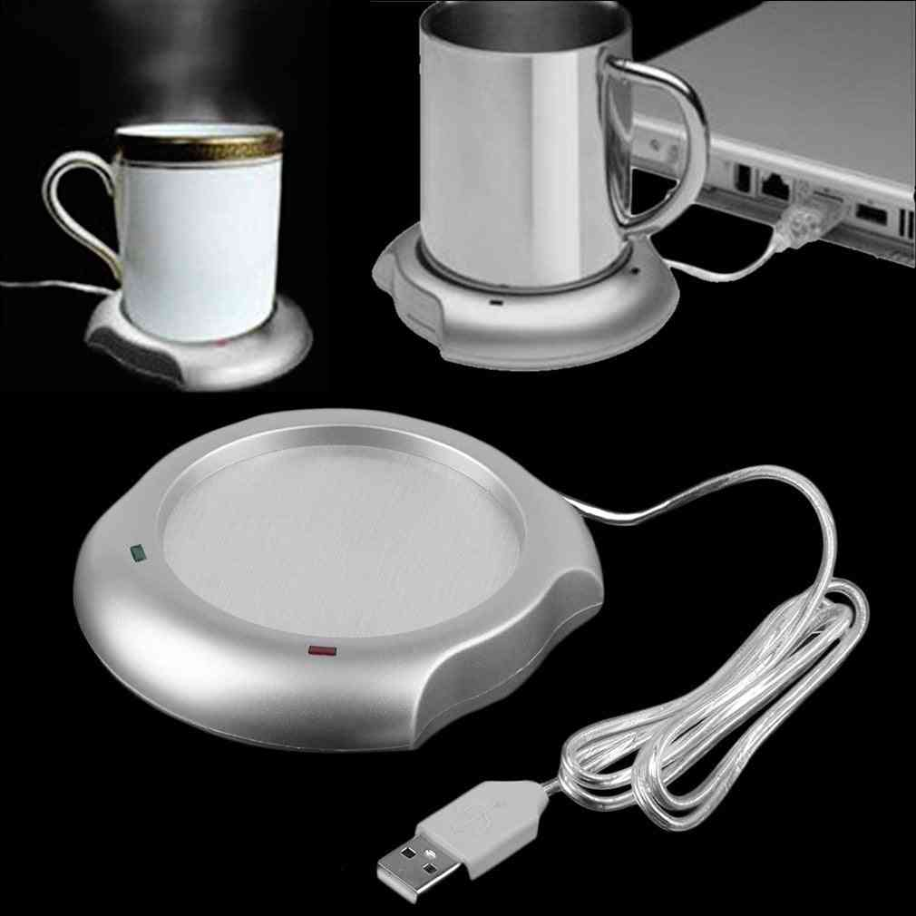Fashionable Usb Insulation Coaster Heater Heat Insulation Electric Coffee Cup / Mug