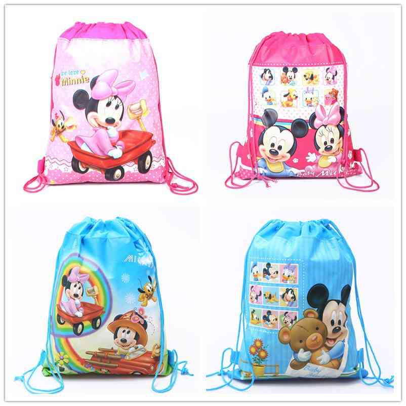 Double Sided Non-woven Cloth Drawstring & School Bag