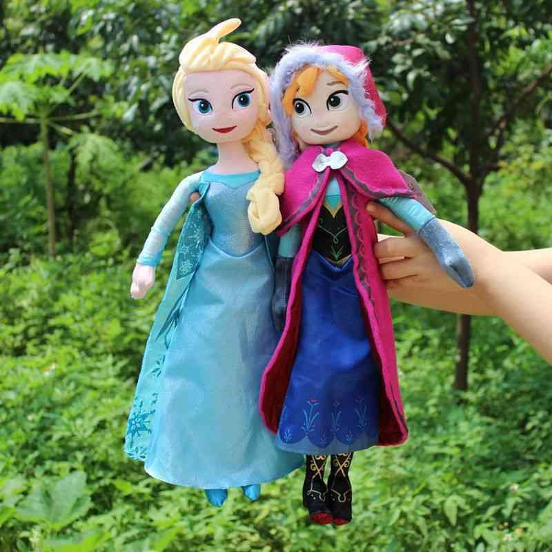 2pcs Anna& Elsa Plush Doll
