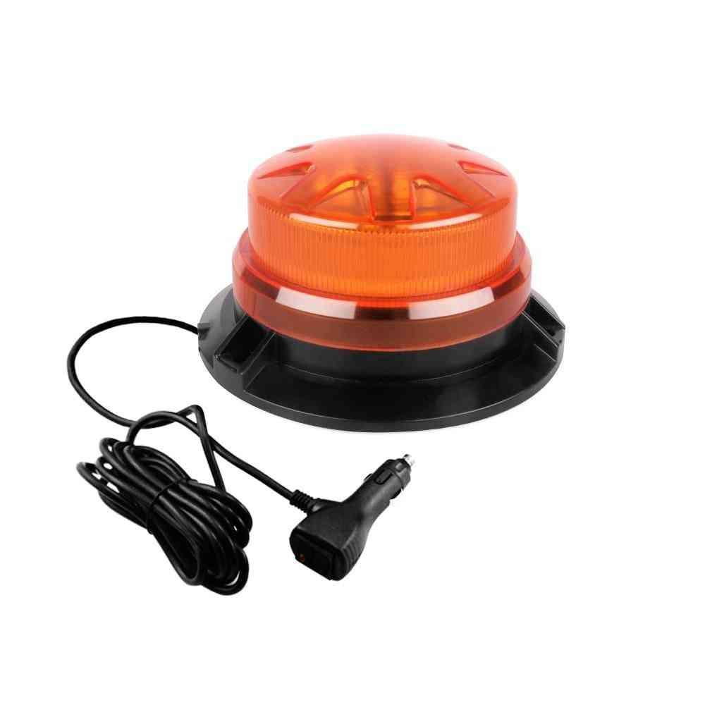 Led Rotating, Flashing Emergency, Strobe Warning Light With Magnetic