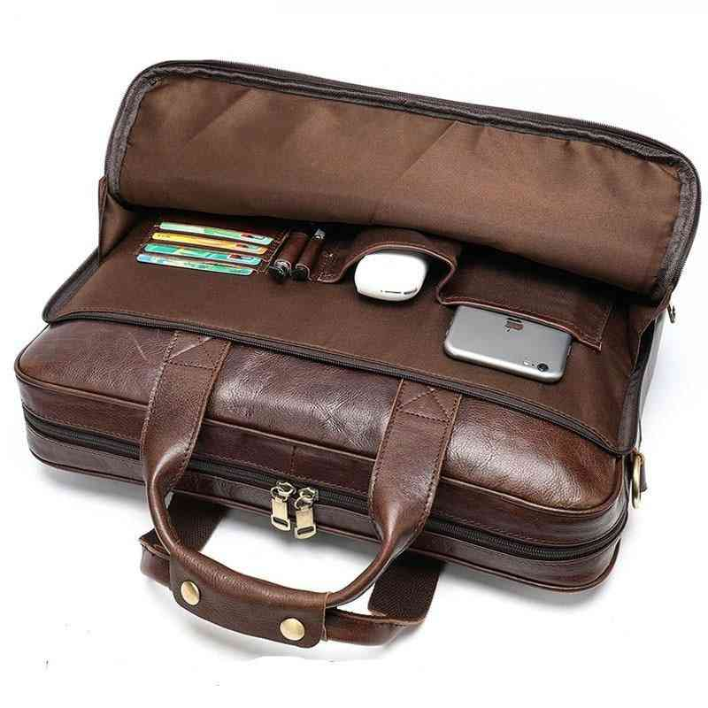Men's Leather Office Bag