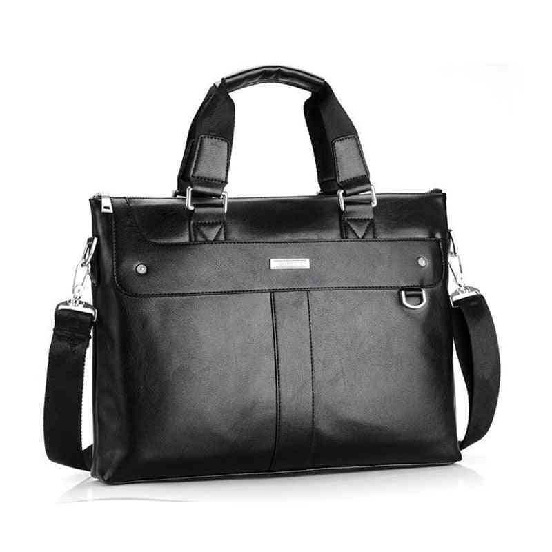 Pu Leather Men's Business Travel Bag