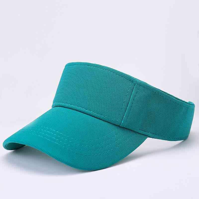 Summer Sun Visor Running Tennis Golf Hats, Sporty Cap