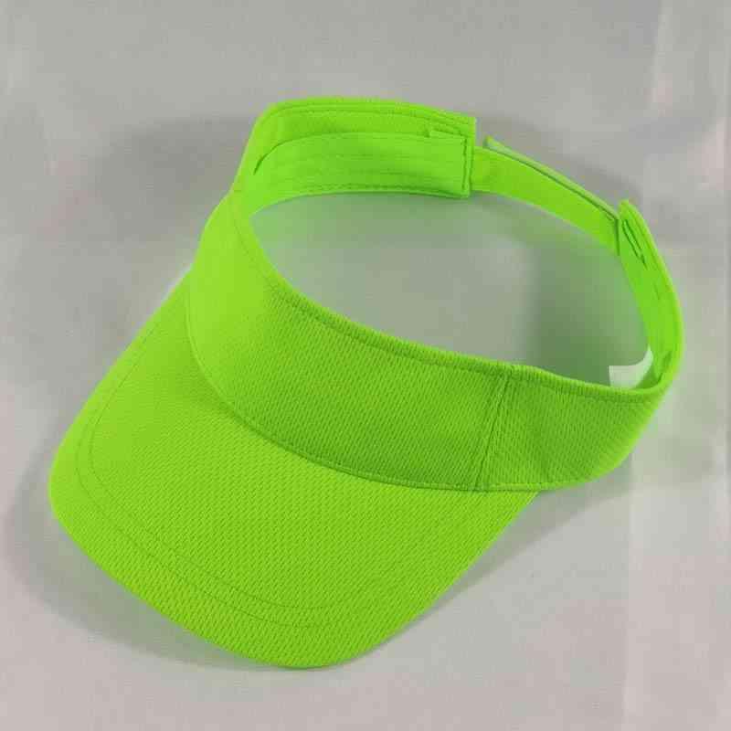 Men/women Adjustable Sport Visors Golf Tennis Running Jogging Hiking Camping Cap