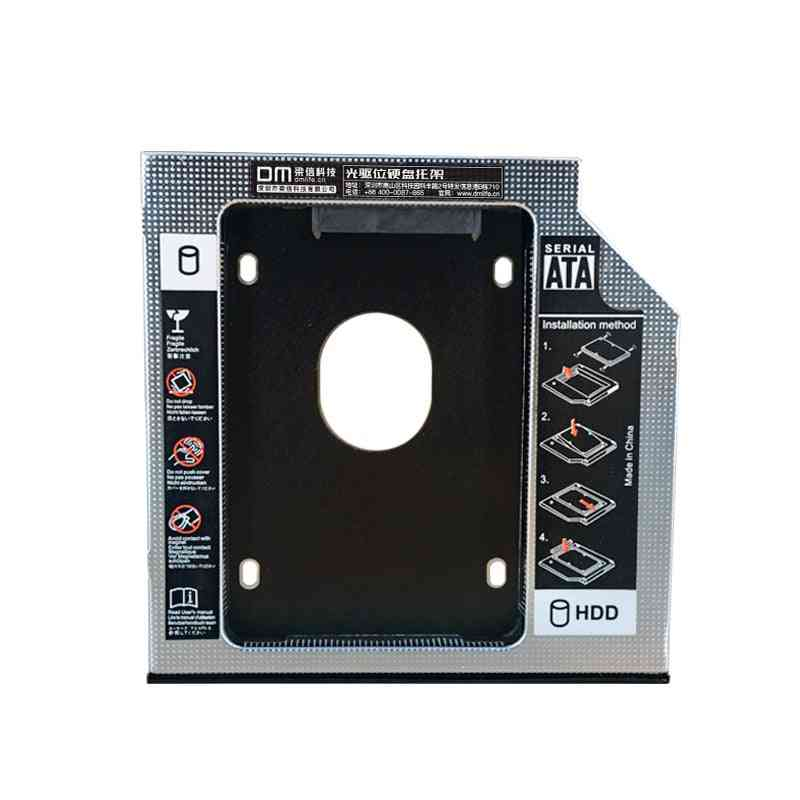 Laptop Dw127s 12.7mm Plastic Optibay Sata 3.0 Hard Disk Drive Ssd Adapters