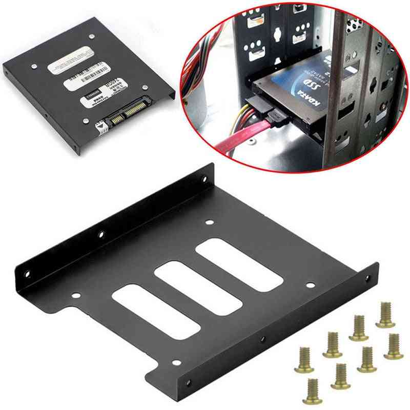 2.5 Inch Ssd Hdd To 3.5 Inch, Metal Mounting, Bracket Dock Hard Drive Holder