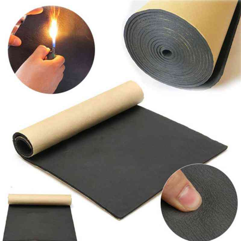 Car Sound Proofing Deadening, Anti-noise Sound Insulation Cotton Heat Closed Cell Foam