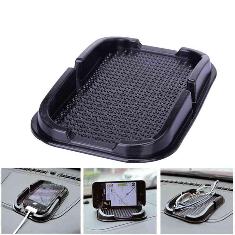 Car Anti Slip Pad, Rubber Mobile Sticky Stick, Dashboard Phone Shelf Anti Non Slip Mat