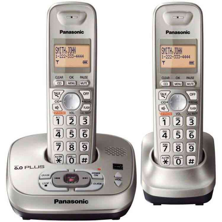 Digital Cordless Telephone With Answer System Machine