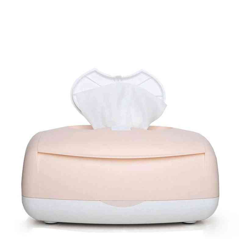 Electric Wipes Box, Top Winter Wet Towel Dispenser, Constant Temperature Heating, Baby Tissue Warmer