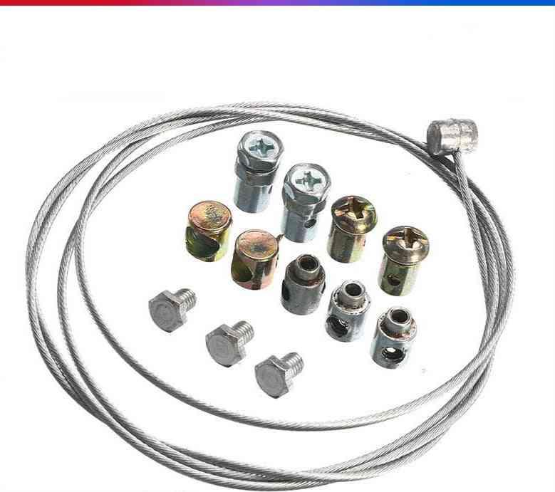 Motorcycle Emergency Throttle, Brake Clutch Cable Repair Kit