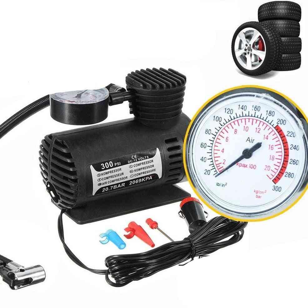 Portable Mini Electric Inflator-air Compressor Kit