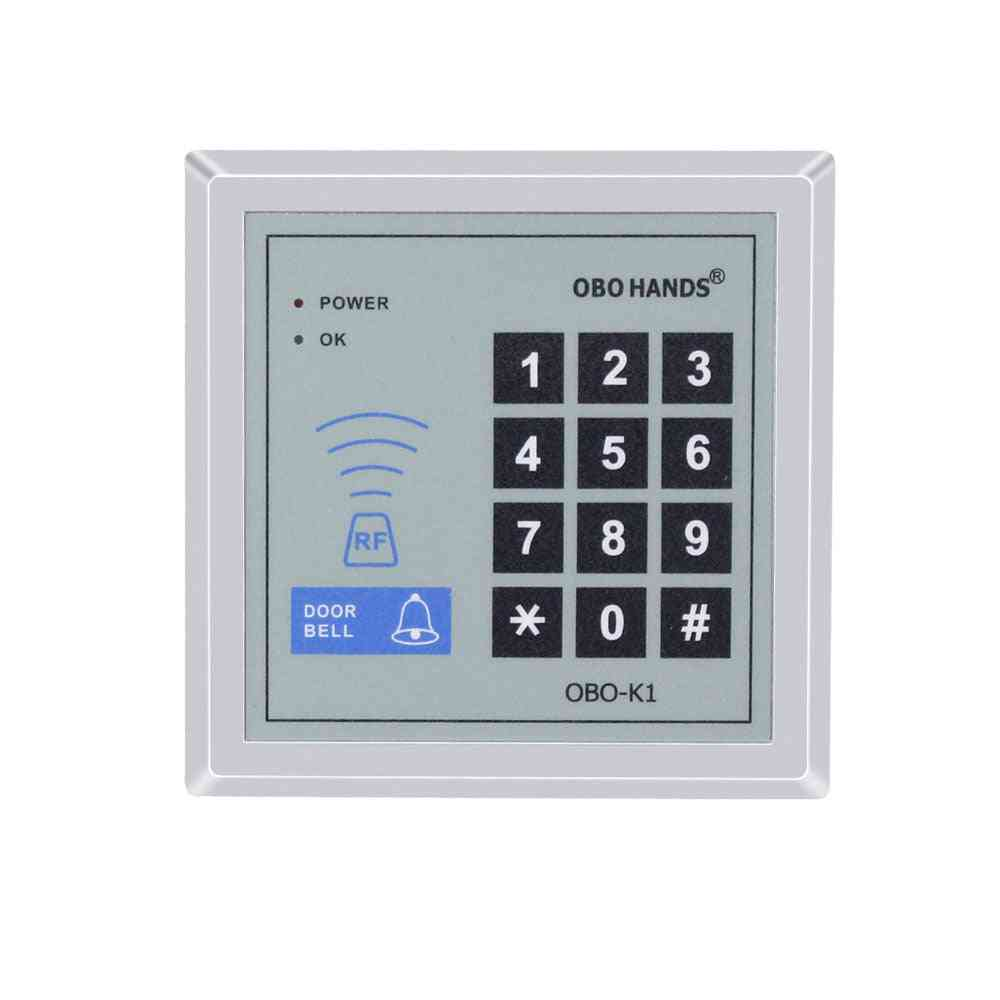 Rfid Smart Card, Reader Keypad With 10-keychains For Home Door Lock System