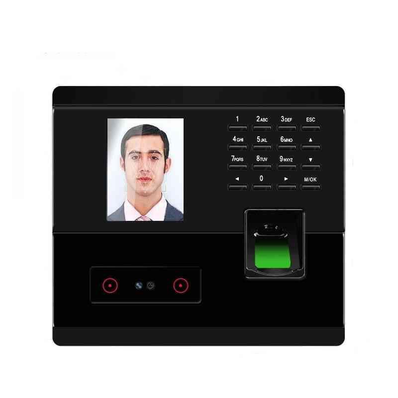 Tcp/ip Usb, Face And Fingerprint, Password Access Control, Time Attendance Clock Biometric