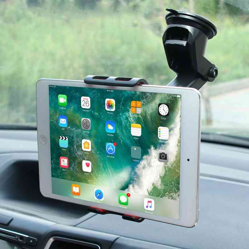 Stong Suction Tablet Stand Car Holder For Ipad Lengthened Hose Bracket