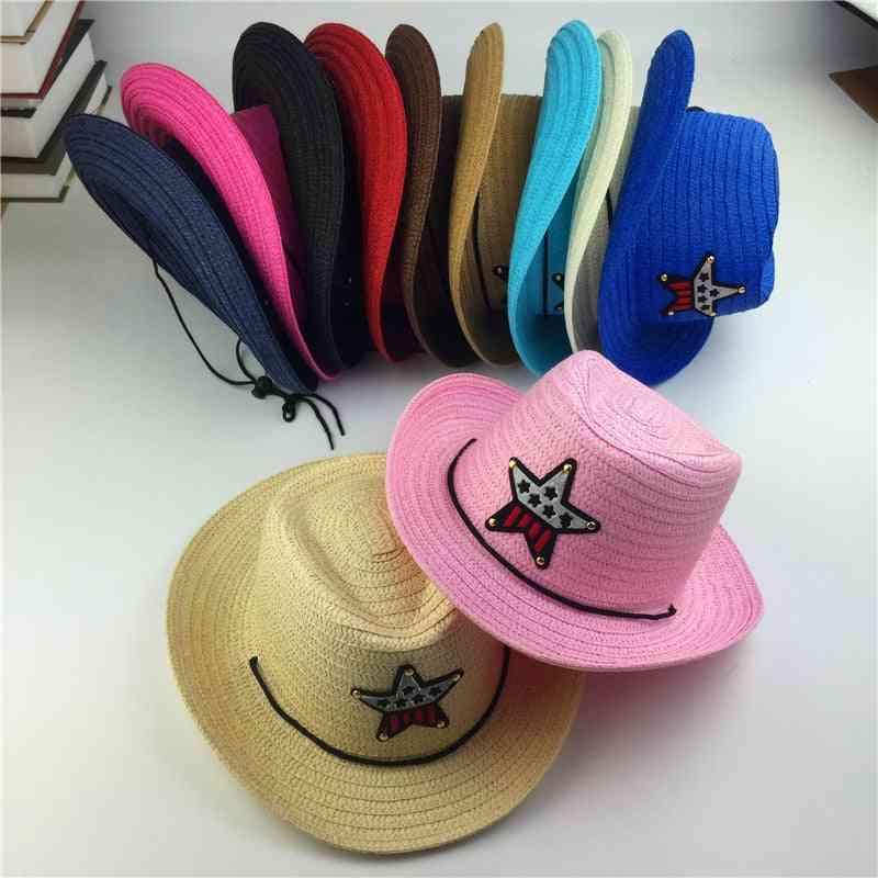 Outdoor Summer Jazz Cowboy Hat