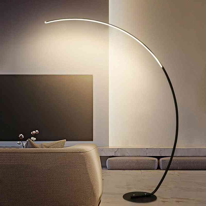 Modern Remote Control Led Floor Lamp